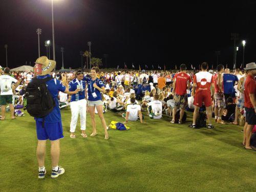 Церемония закрытия Островных Игр-2013