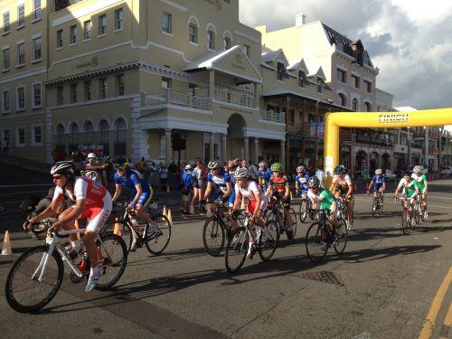 Велогонка в столице Бермуд— Гамильтоне