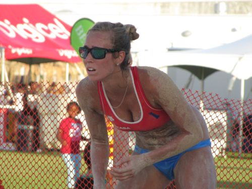 Пляжный волейбол на Островных играх-2013