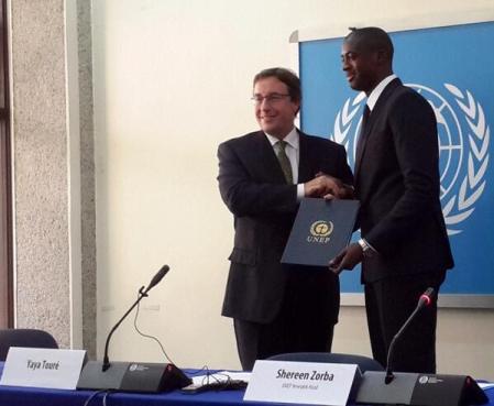 Яя Туре стал послом доброй воли ООН - изображение 1