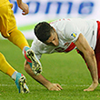 Красное и черное. Как сборная Украины победила Польшу