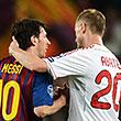 Кон первый. «Милан» – «Барселона» и другие матчи плей-офф Лиги чемпионов