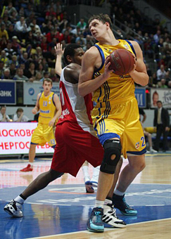Mozgov in Khimki