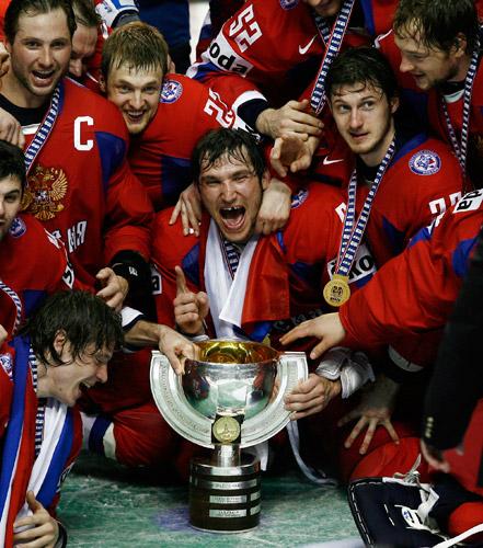 сборная России, Александр Овечкин, ЧМ-2008