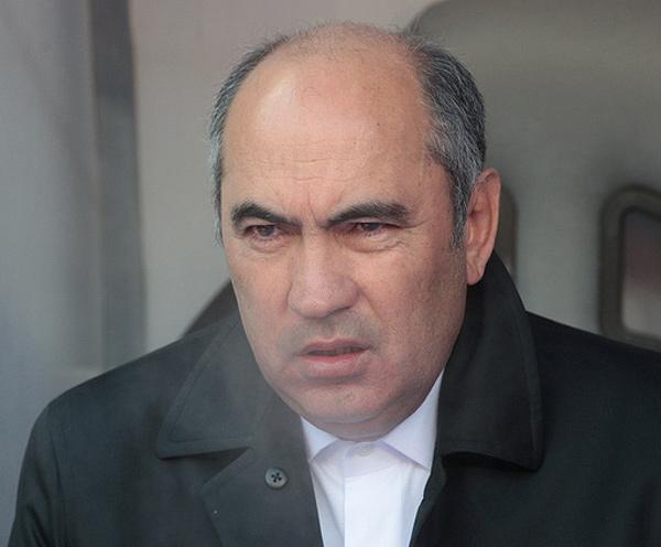 Курбан Бердыев в пальто. Рубин - Твенте