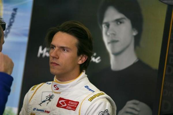 Милош Павлович второй раз в сезоне финиширует на подиуме