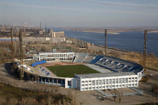 """Арена в Волгограде будет возведена на месте Центрального стадиона, который еще помнит визит молодого  """"МЮ """" осенью..."""