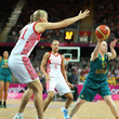 сборная России жен, сборная Австралии жен, Лондон-2012, олимпийский баскетбольный турнир жен