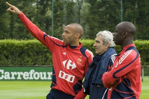 Тьерри Анри, Лилиан Тюрам, сборная Франции, Раймон Доменек, Евро-2008