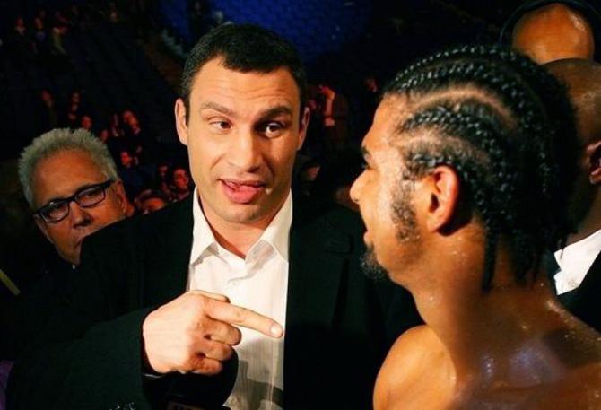 Виталий Кличко: Хэй отказался драться со мной