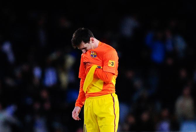 Месси забил, но «Барселона» проиграла. И другие кадры субботы (ФОТО)