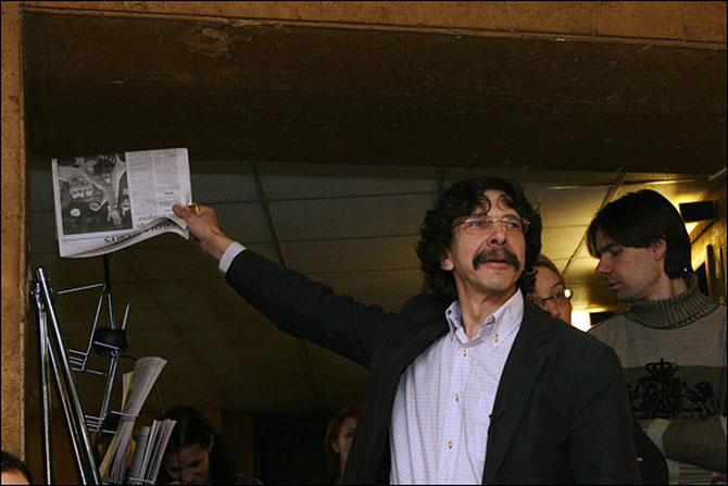 Сергей Бунтман: Заорал: «Карлито, мочи!» - а потом три дня говорил, как Дон Корлеоне