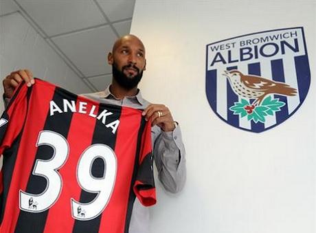 Анелька подписал контракт с «Вест Бромвичем»