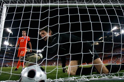 Эдвин ван дер Сар, сборная Голландии, Евро-2008
