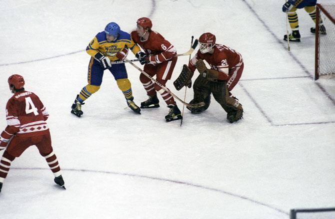 чемпионат мира, сборная СССР, Сборная Швеции по хоккею