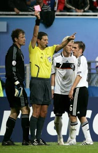 Евро-2008, Франк Де Блекере, судьи