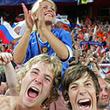 сборная России, болельщики, Гус Хиддинк, сборная Германии, квалификация ЧМ-2010, Сигнал Идуна Парк
