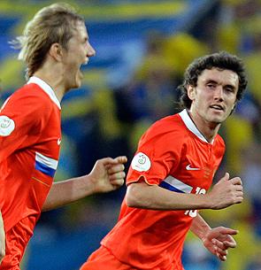 Роман Павлюченко и Юрий Жирков