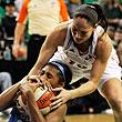 женская НБА, Сиэтл жен, Атланта жен