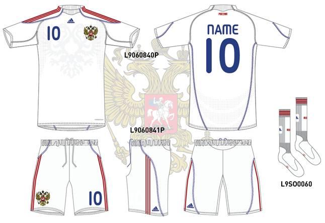 Новая форма сборной России по футболу (Фото и видео)