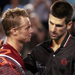 Роджер Федерер, Новак Джокович, фото, Australian Open, НТВ-Плюс, Джим Курье