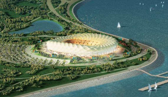 Стадион в Краснодаре, плановая вместимость – 50 015