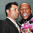 Флойд Мэйвезер-младший, Оскар Де Ла Хойя, WBC, титульные бои, первый средний вес