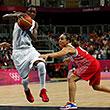 Лондон-2012, олимпийский баскетбольный турнир жен, сборная России жен, сборная Франции жен