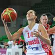 сборная России жен, сборная Чехии жен, Евробаскет-2011 жен