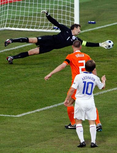 Андрей Аршавин, Эдвин ван дер Сар, сборная Голландии, сборная России, Евро-2008