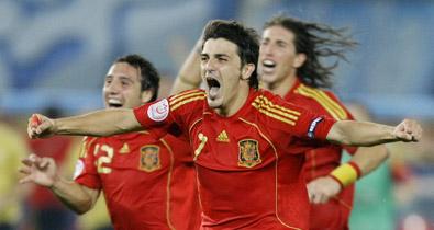 сборная Италии, сборная Испании, Лука Тони, Джанлуиджи Буффон, Икер Касильяс, Евро-2008