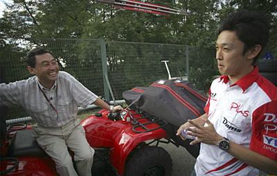 Сатору Накаджима пристально следил за выступлениями Кадзуки в ГП2