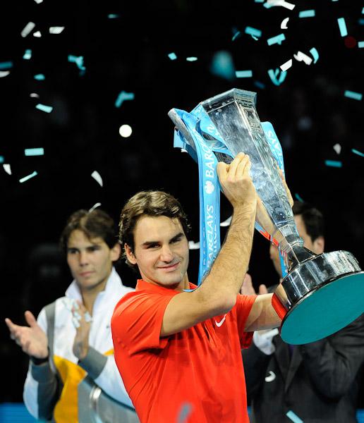 Роджер Федерер, Рафаэль Надаль, ATP, Barclays ATP World Tour Finals