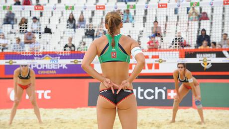 Пляжный волейбол нидерланды россия