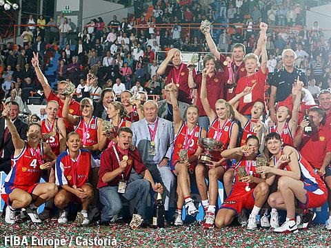 Сборная России стала сильнейшей на женском Евробаскете-2011