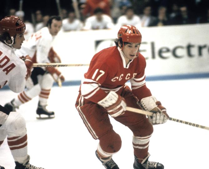 чемпионат мира, сборная СССР, Валерий Харламов, Сборная Канады по хоккею