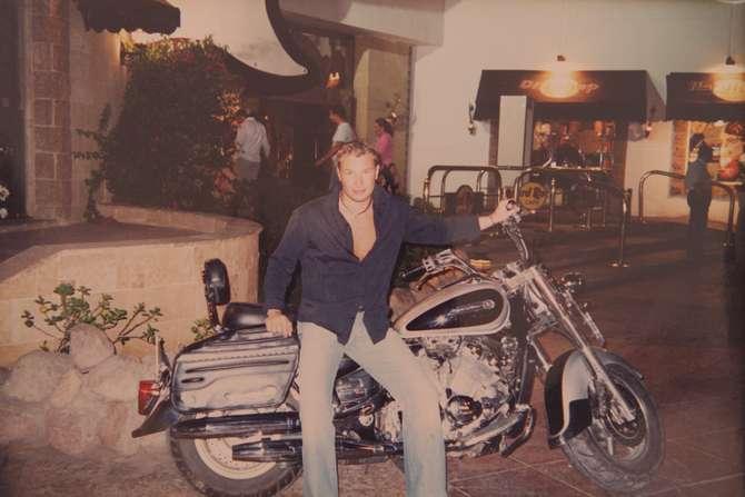 Константин Генич и мотоцикл, начало 2000-х