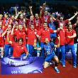 сборная России, сборная Бразилии, Мировая лига