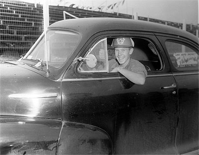 В 50-е Билл Фрэнс-младший и сам любил погоняться