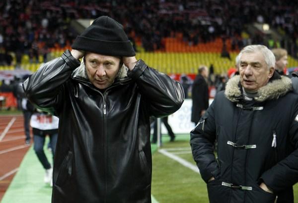 Олег Романцев и Георгий Ярцев