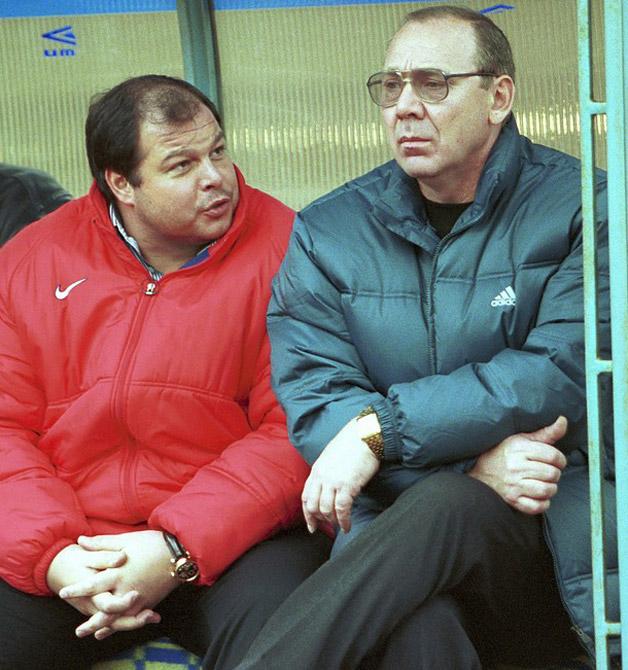 Андрей Червиченко и Олег Романцев