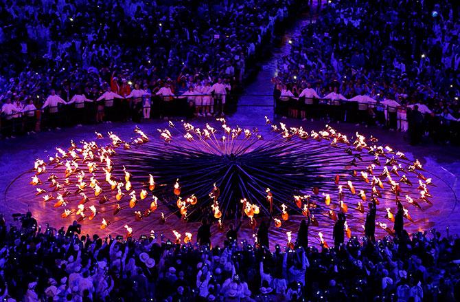 Открытие олимпиады в лондоне как это