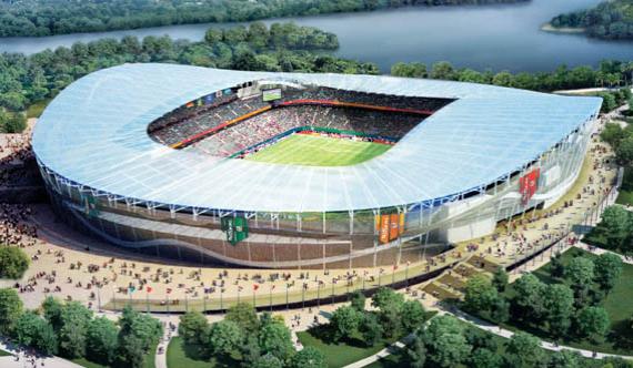 Арена в Казани, плановая вместимость – 45 105 человек
