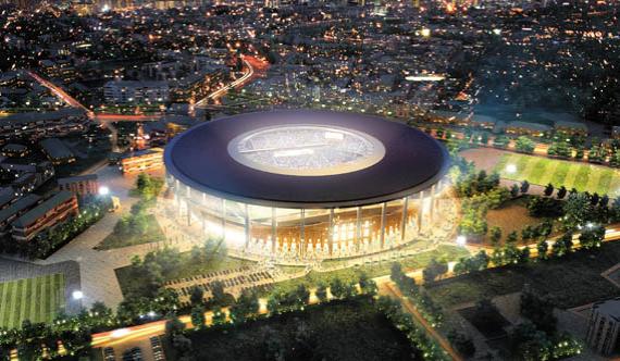 Арена в Екатеринбурге, плановая вместимость – 44 130 человек