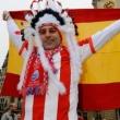 примера Испания, болельщики, Висенте Кальдерон, Атлетико, видео