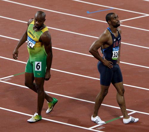бег,  Тайсон Гэй, Асафа Пауэлл, Пекин-2008, сборная США, сборная Ямайки