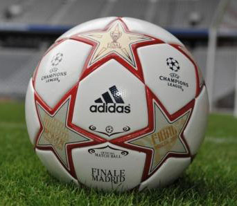 Adidas представил мяч финала Лиги чемпионов-2009/10 (фото)