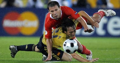 Евро-2008, видео, сборная Испании, сборная России