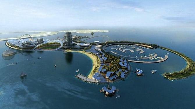 Остров-курорт, расположенный на территории ОАЭ