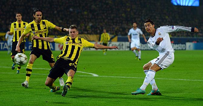 смотреть онлайн футбол боруссия дортмунд реал мадрид